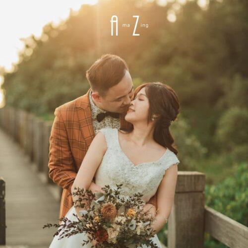晶綻囍事-防疫婚紗照